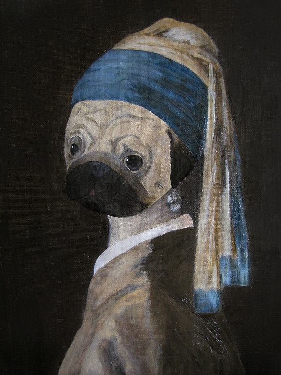 wombart-ustymenko-pugmeer-pug-with-a-pearl-earring-portrait-art-artwork-painting