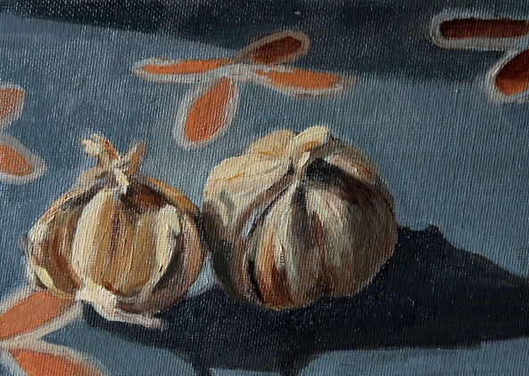 Alex Jabore-Study of Garlic
