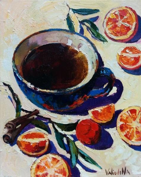 Anastasiya Valiulina-Cup of tea