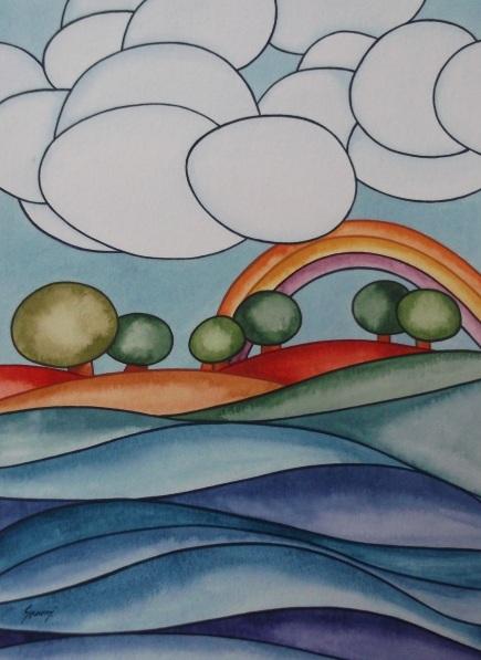 Brenda Szuromi-Clouds II