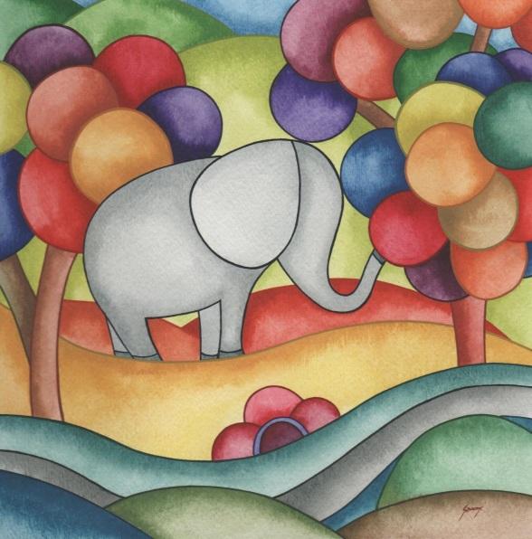 Brenda Szuromi-Elephant