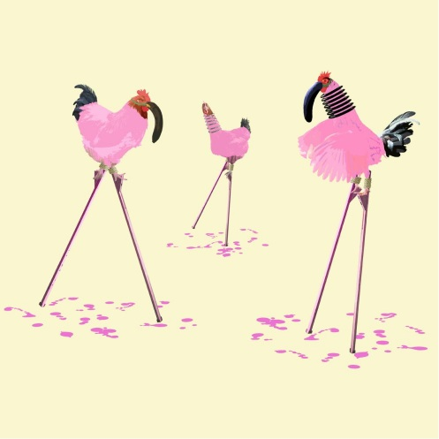 Carl Moore-The Chickens Who Wanted to be Flamingos