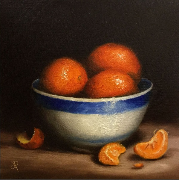 Jane Palmer-Bowl of Clementines