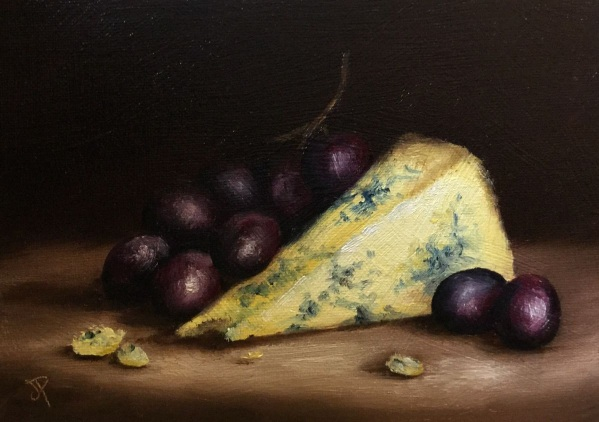 Jane Palmer-Cheese and grapes No. 3
