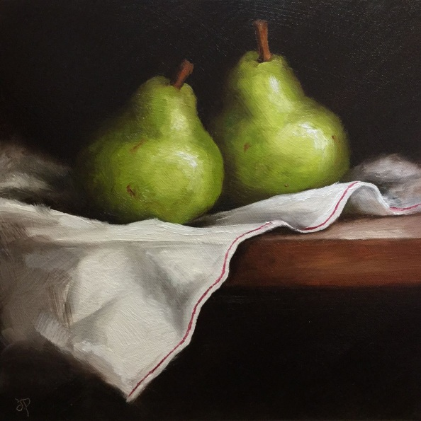 Jane Palmer-Pears on cloth