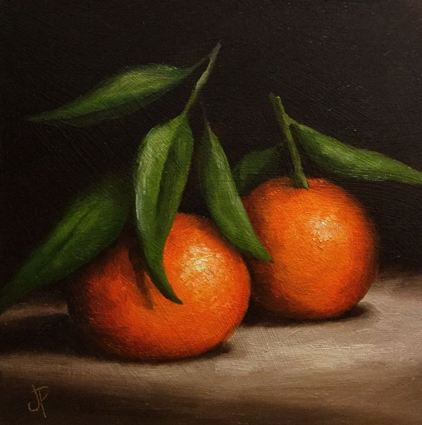 Jane Palmer-Two Clementines