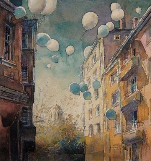Kalina Toneva-Balloons