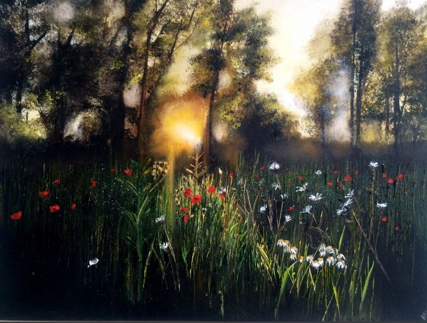 Kimberley Harris-Sunbeam on the Poppies