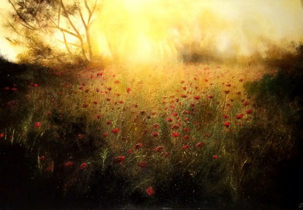 Kimberley Harris-The Gilted Poppy Field