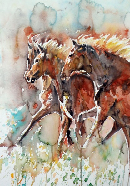 Kovács Anna Brigitta-Horses