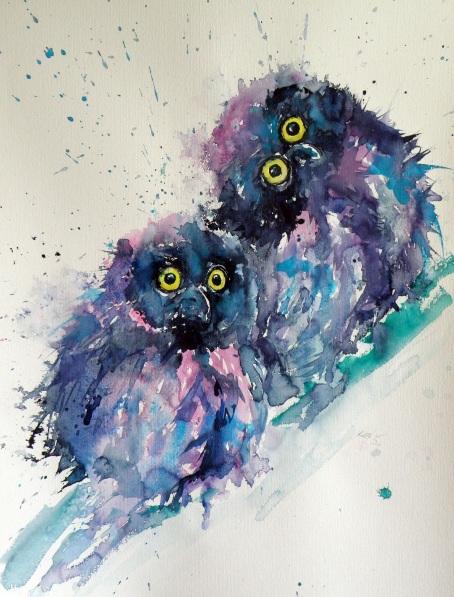 Kovács Anna Brigitta-Owl chicks