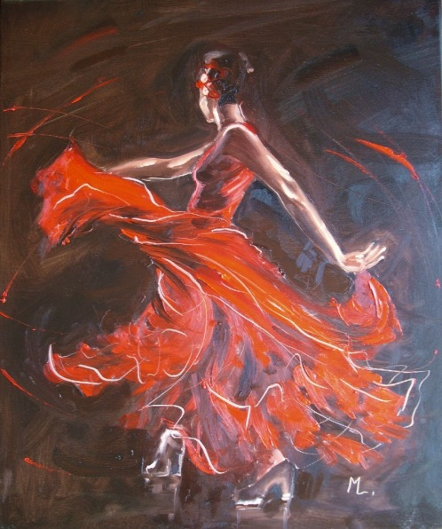 Monika Luniak-FIRE OF FLAMENCO