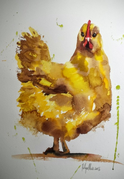 Polina Morgan-Yellow Chicken
