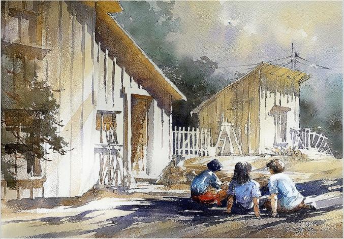 THOMAS W SCHALLER-SISTERS - LONG AGO