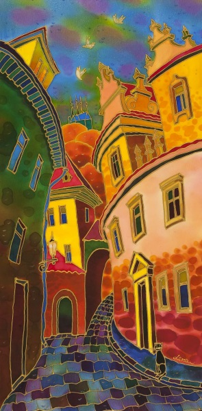 Yelena Sidorova-Last Ray Of The Sun. Prague