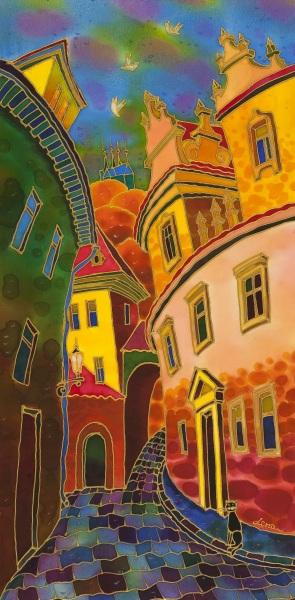 Yelena Sidorova-Last Ray Of The Sun. Prague