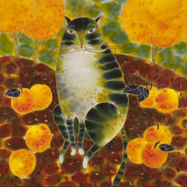 Yelena Sidorova-My Apple Cat