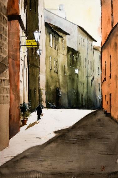 Yuriy Kraft-Street in Pienza