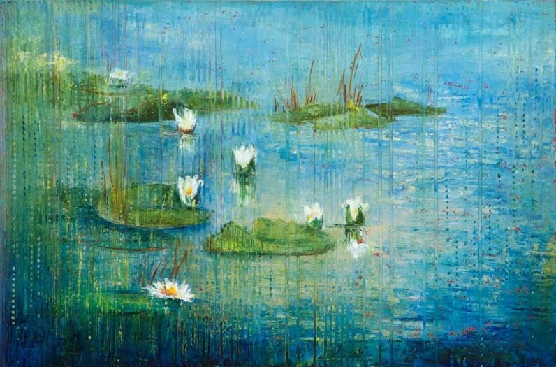 Anna Ravliuc - Water Lilies