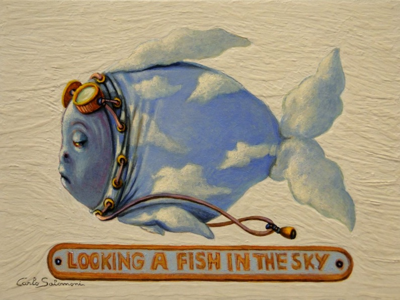 Carlo Salomoni-LOOKING A FISH IN THE SKY