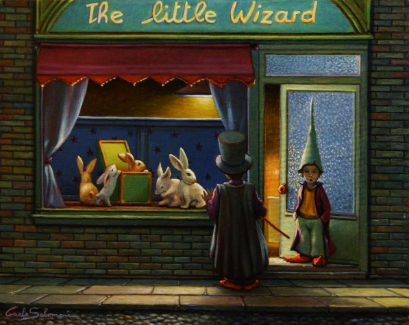 Carlo Salomoni-THE LITTLE WIZARD