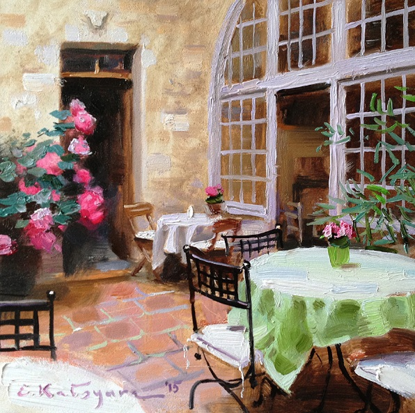 ELENA KATSYURA - ROSE PATIO
