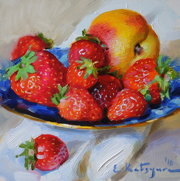ELENA KATSYURA - STRAWBERRY PLATE