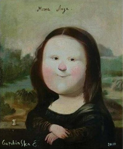 Eugenia Gapchinska-Mona Lisa