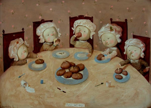 Eugenia Gapchinska-Potato eaters