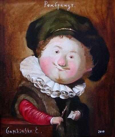Eugenia Gapchinska-Rembrandt