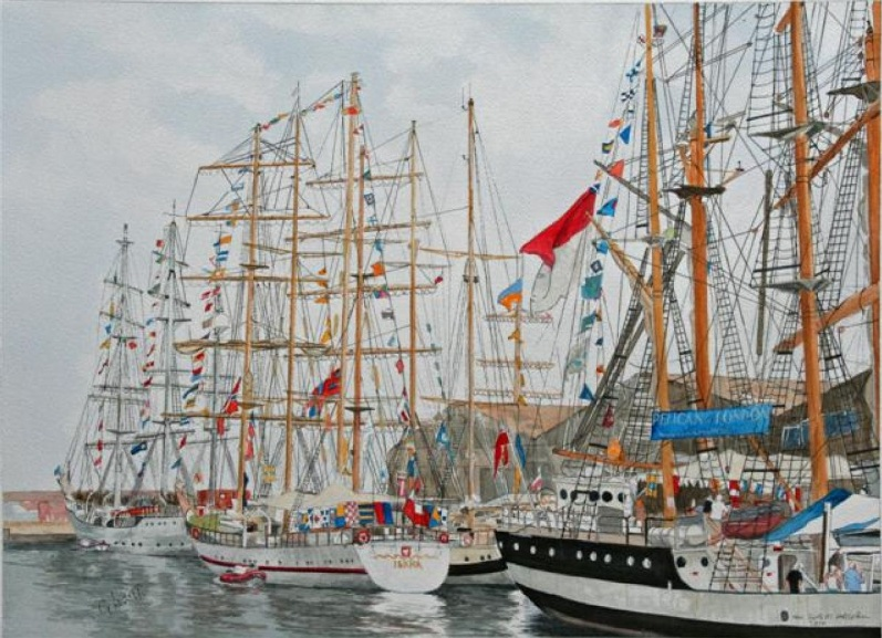 George Levitt - Tall Ships at Hartlepool