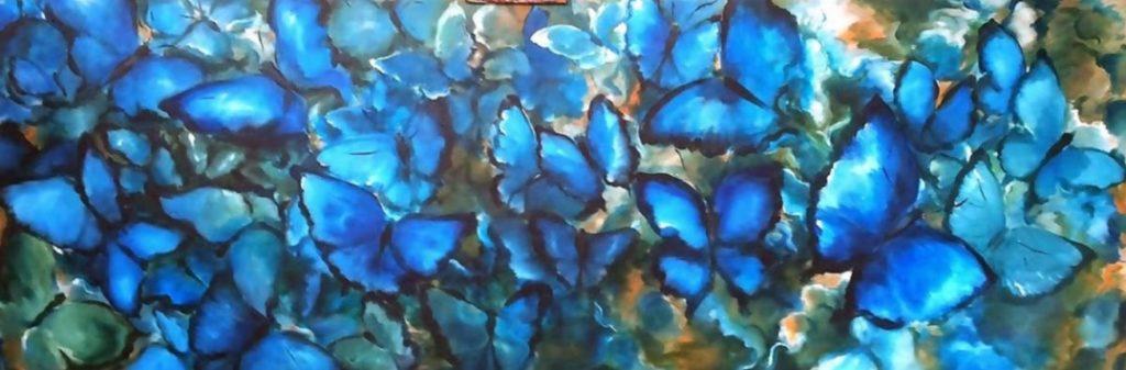 Hilda Hendriksen - Bleu Butterfly