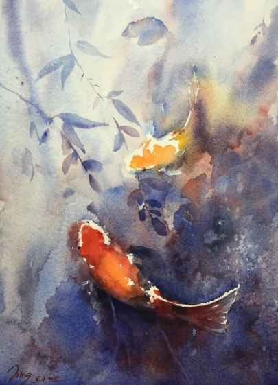 Jing Chen-Fish Romance 2