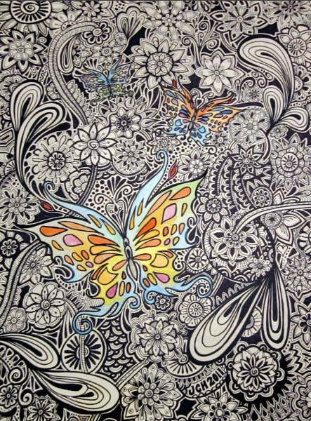 Jo Claire Hall - Butterfly Ink
