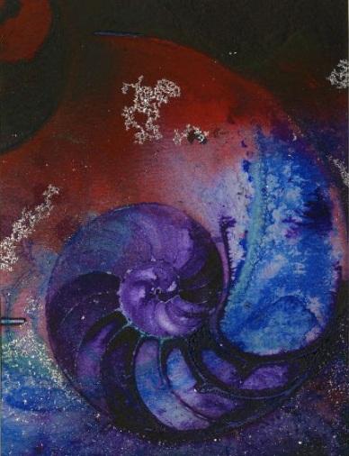 Kathy Morton Stanion - Ocean - Nautilus Shell No. 946