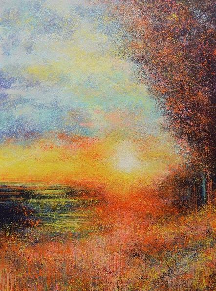 Marc Todd - A Summer Sunset