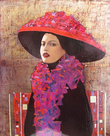 Richard Burlet-Female portrait