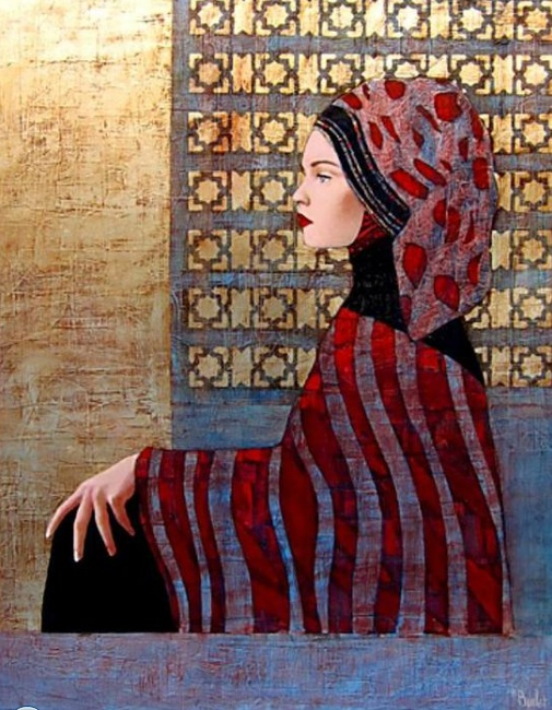 Richard Burlet-Womans Portrait