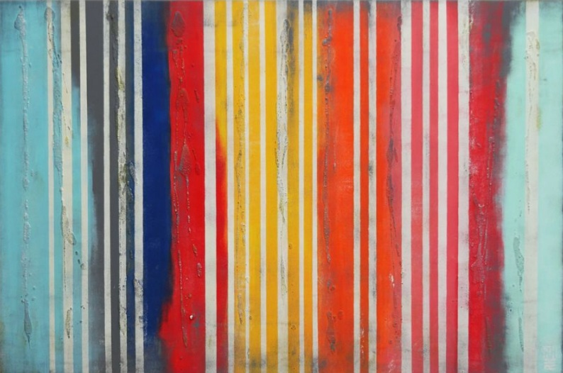 Ronald Hunter - Vertical Color Lines 471