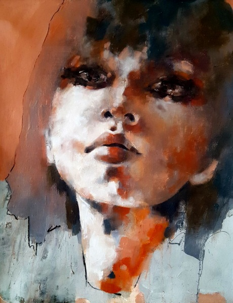 Thomas Donaldson - 4-9-16 Head study with red