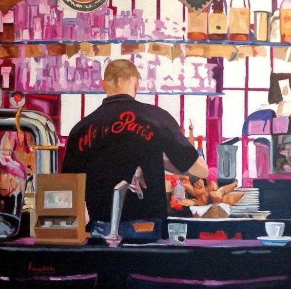 Angie Brooksby - Café de Paris
