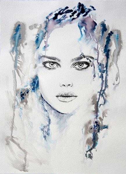 Anna Sidi-Yacoub - Natalie in blue