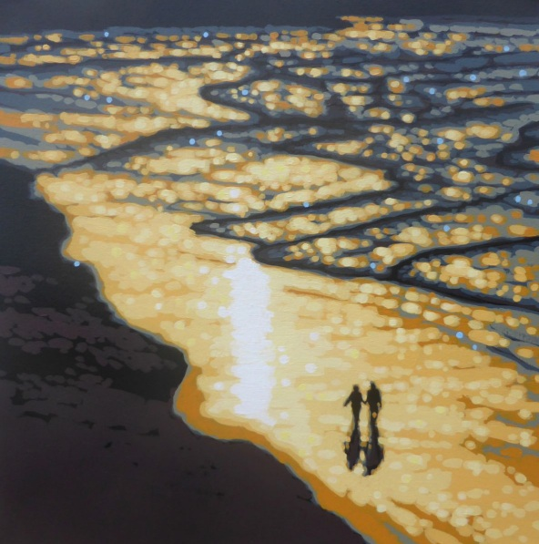 Gordon Hunt - Sunset paddle