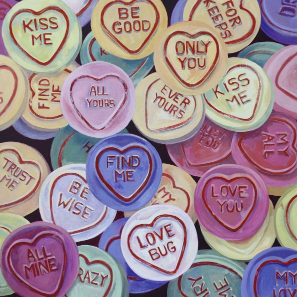 Hannah Bruce - Love Hearts