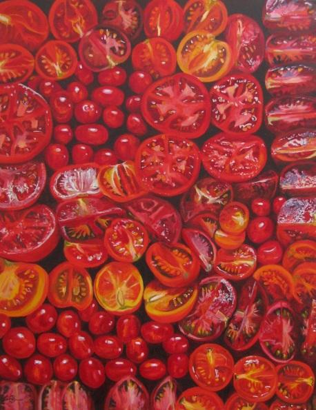 Hannah Bruce - Roasting Tomatoes