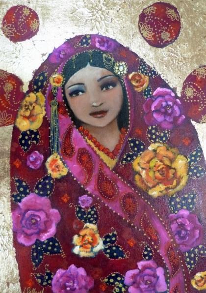 Loetitia Pillault - Le voyage de soie- Silk travel