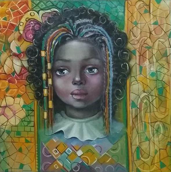 Reneta Isin - African Child Portrait