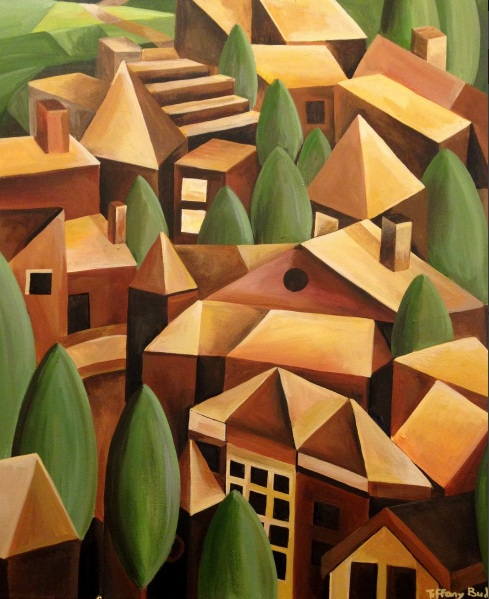 Tiffany Budd - The Cubist Village