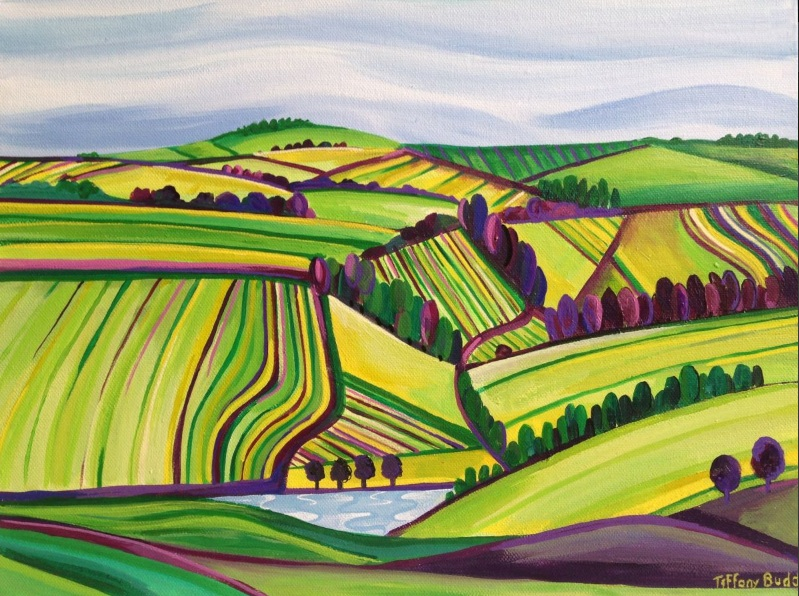 Tiffany Budd - The Dorset Hills