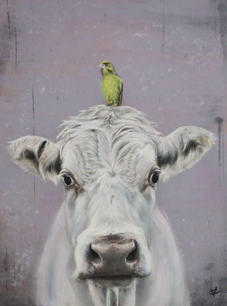 Victoria Coleman - The Greenfinch and the Cow